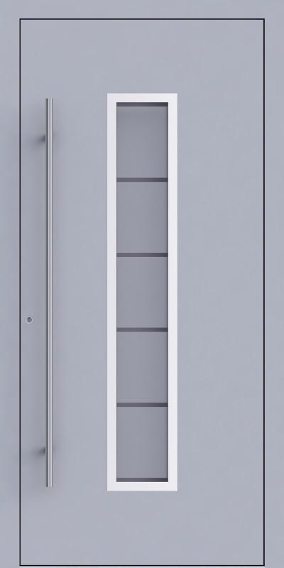 Rubin A01_ RAL 9006 Weißaluminium